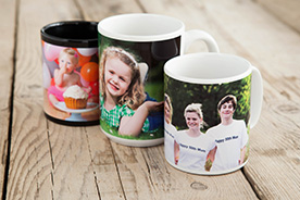 Make impressions that last with mugs, jigsaws, coasters, mouse mats and more.